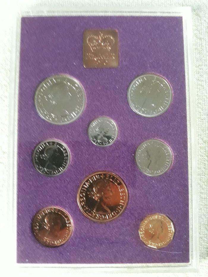 Coinage Of Great Britain 1970. Zestaw kolekcjonerski monety brytyjskie Żary - image 1