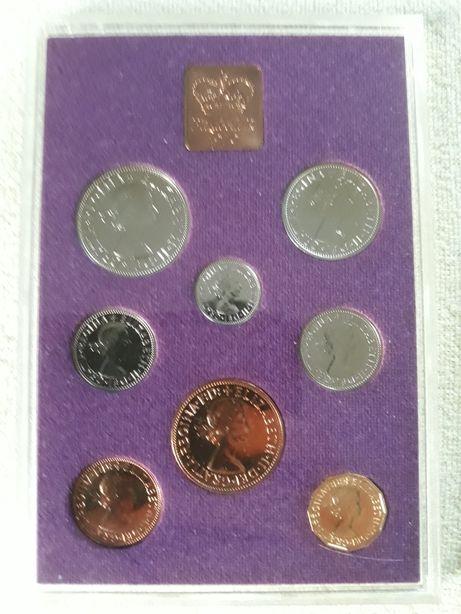 Coinage Of Great Britain 1970. Zestaw kolekcjonerski monety brytyjskie