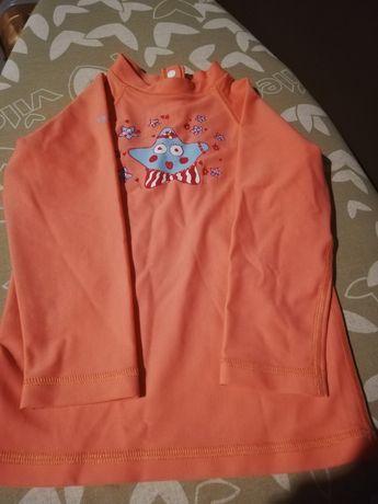 Koszulka z filtrem 50 UPV. Lat 4