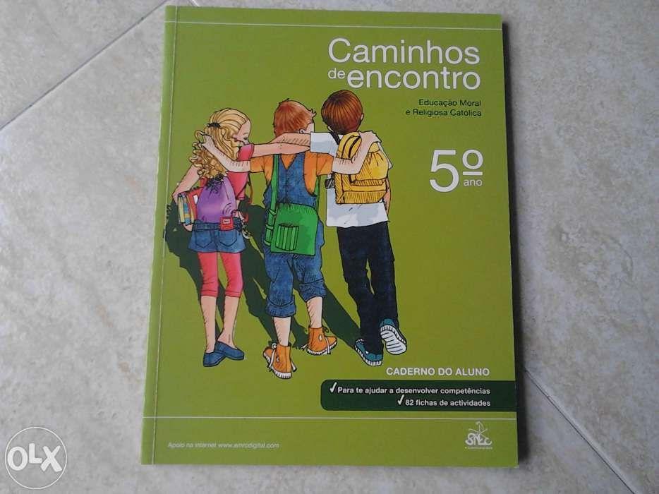 Caminhos de encontro ,5 ano caderno aluno Queluz E Belas - imagem 1