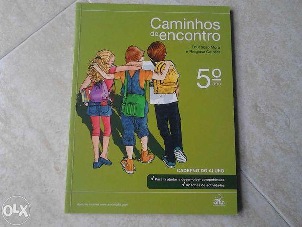Caminhos de encontro ,5 ano caderno aluno