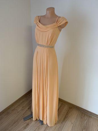 Nowa plisowana sukienka TFNC London rozmiar 34 wesele zara lou