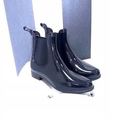 Резиновые ботинки челси женские резиновые сапоги гумаки