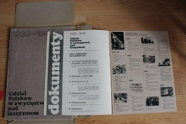 Dokumenty 1939-45 r.