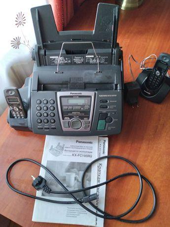 Факс  Panasonic KX- FC195RU