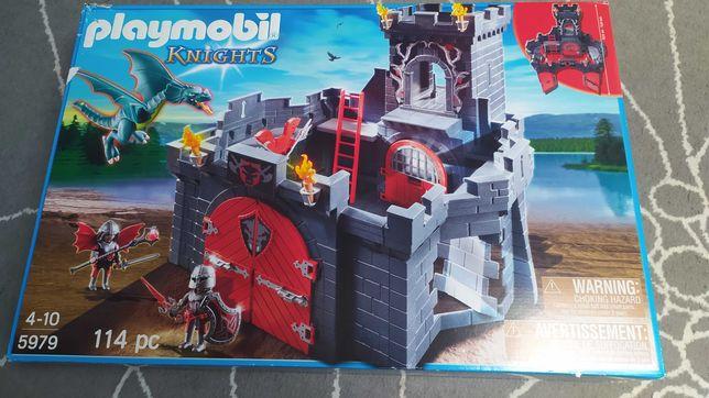 Playmobil zamek z lochem + ogier gratis!. Playmobil knights 5979