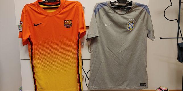 Koszulki Nike sportowe piłkarskie na chłopca r. L 12-13 lat