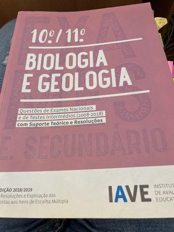 Livro de preparação para exame de biologia e geologia