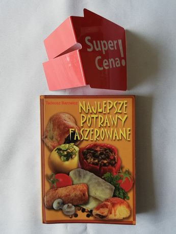 """książka """"najlepsze potrawy faszerowane"""" Tadeusz Barowicz"""