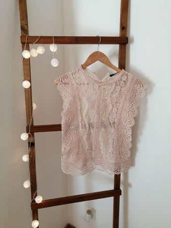 Blusa Rosa da Zara