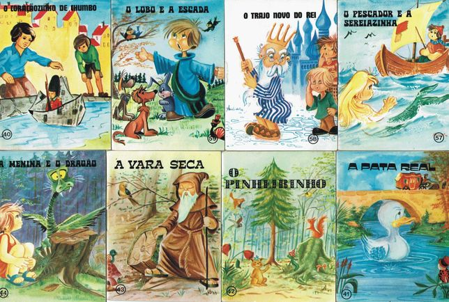 Minilivros da Coleção Formiguinha, Editorial Infantil MAJORA