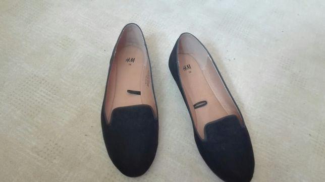 Baleriny czarne H&M roz. 36