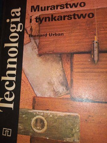 Książka Leonard Urban murarstwo i tynkarstwo altana