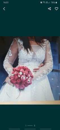 Suknia ślubna 34, 36, 38