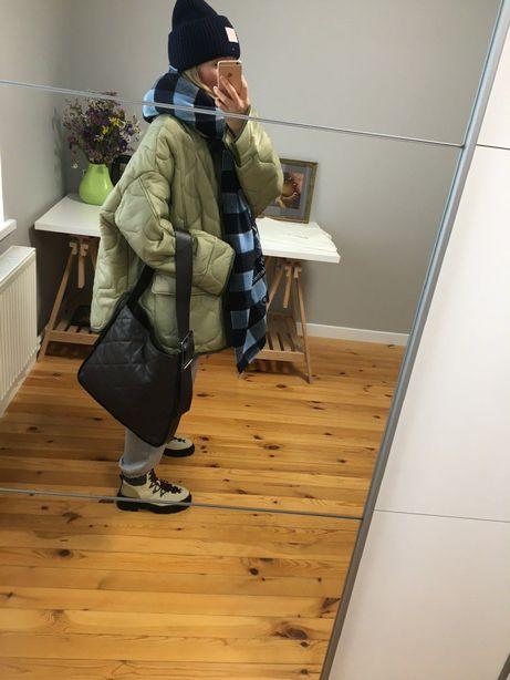 Новая кожаная сумка Massimo Dutti, Zara, COS, Arket.