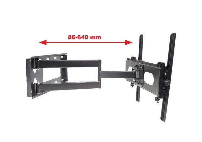 Długi 64cm Uchwyt do telewizora wieszak do TV 32-63 cale VX-200
