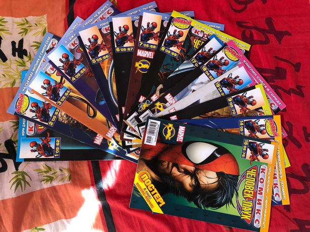 Комикс Комиксы Человек-паук Spider Man Marvel Comics 2004 год