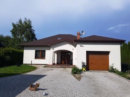 Atrakcyjny dom w Zakrzewie koło Sochaczewa
