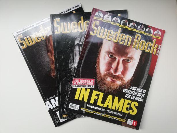 Sweden Rock Magazine - czasopisma w języku szwedzkim