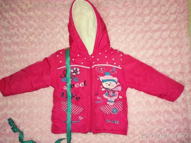 Демисезонная детская куртка, весна осень, размер 92