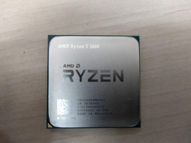 НОВЫЙ 1 год ГАРАНТИИ Процессор sAM4 AMD RYZEN 5 2600 tray за 11600 руб