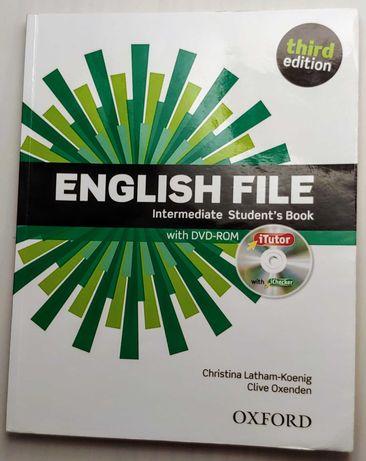 Książka do j.angielskiego ENGLISH FILE z płytą DVD