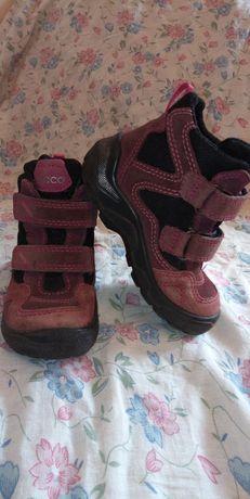 Сапоги Ecco для девочки.25р. 16 см. Ботинки