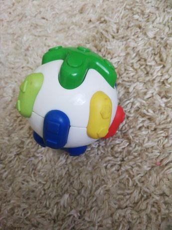 Piłka sensoryczna dla malucha