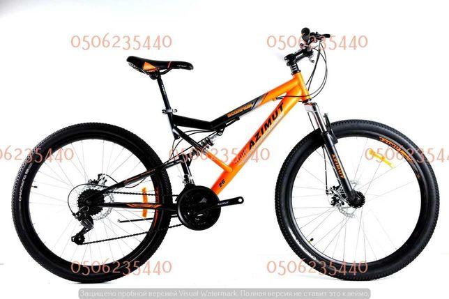 """Велосипед двухподвесной горный Scorpion GFRD 29"""", рама 19"""" azimut"""