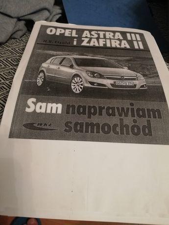 Ksero kopia książki OPEL ZAFIRA B