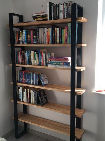 Regał drewniany Biblioteczka Loft