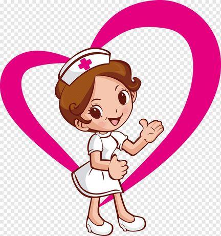 Медсестра на дом/медицинские услуги( капельница,уколы,перевязки)