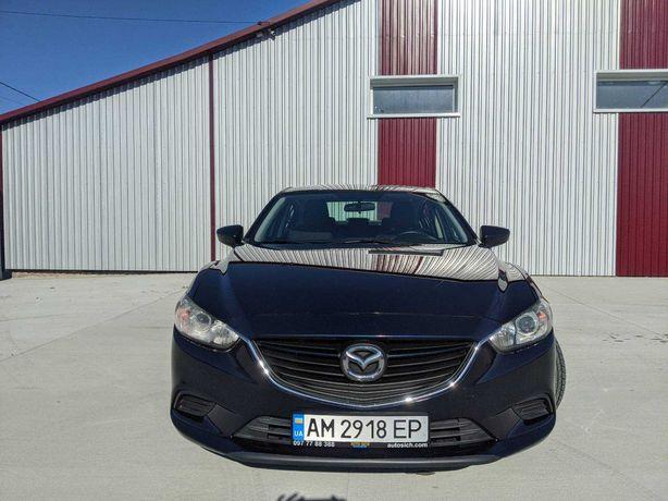 Mazda 6 2015 blue