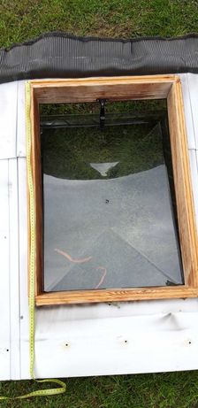 Wyłaz dachowy FAKRO 55 CM na 75cm  z szybą Grodzisk Maz
