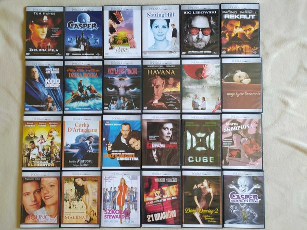 DVD- Zielona Mila Casper Babe Świnka z Klasą Notting Hill Big Lebowski