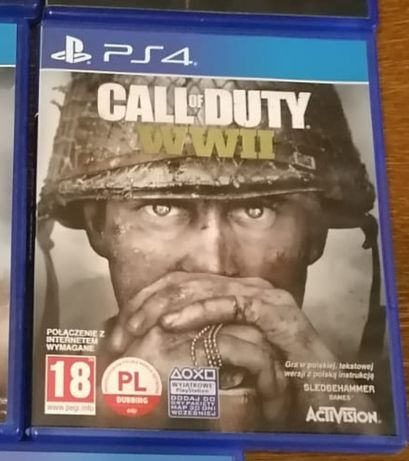 Call of duty WW2 PL PS4