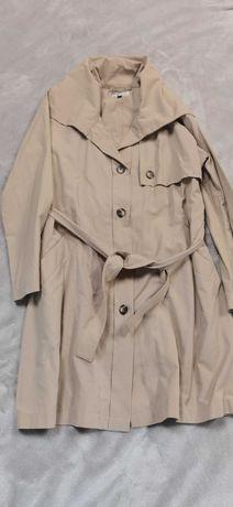 Płaszcz trencz oversize beż Masai S M