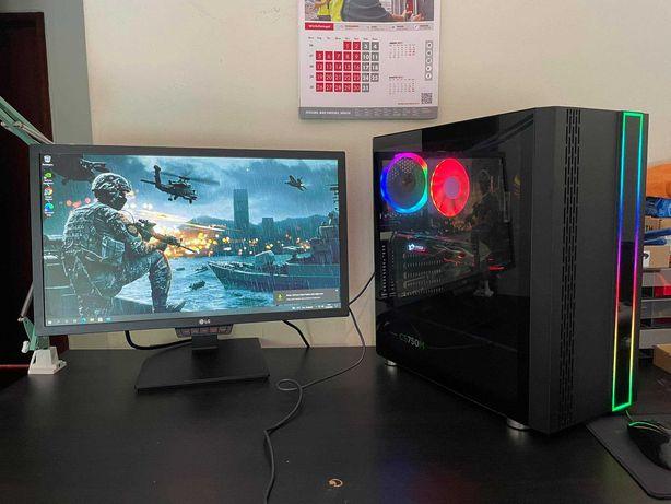 PC Gaming - GTX 1080 X GAMING 8 GB - 16 GB RAM - Monitor Gaming 144 Hz