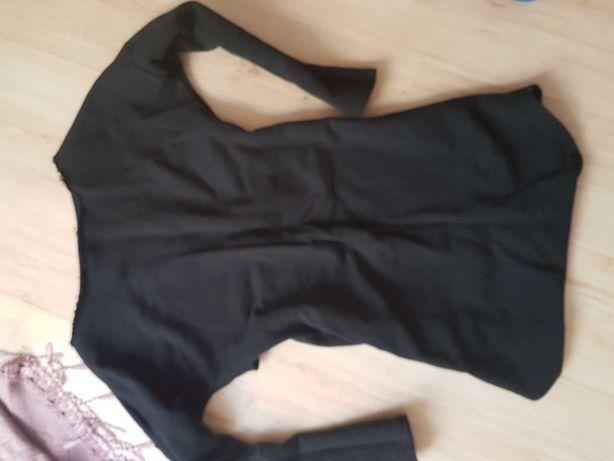 Wyjątkowa dresowa sukienka odkryte Plecy rozmiar 40
