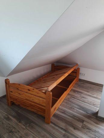 Łóżko drewniane sosnowe Sprzedam