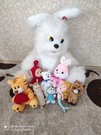 Мягкие игрушки..