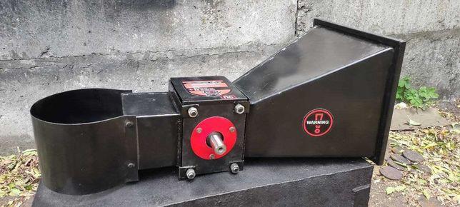 Модуль 60 з бункерами подрібнювач гілок измельчитель веток веткоруб