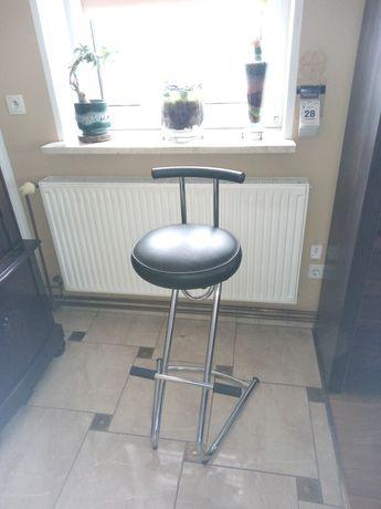 Hocker krzesło skòrzane