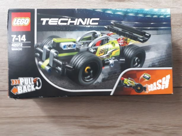 Lego technic wyścigówka