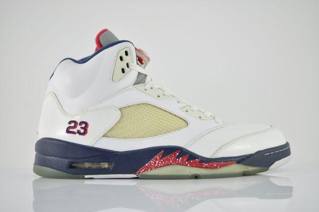 "Air Jordan 5 Retro ""Independence Day"" 2011 nowe 48,5 AJ5 V PURRFECT"