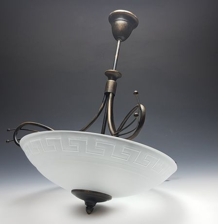 Lampa mosiężna