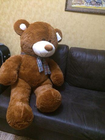 Шикарный мягкий мишка мягкая игрушка на подарок ведмедь