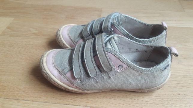Bartek 28 кожа туфли для девочки ecco geox полуботинки