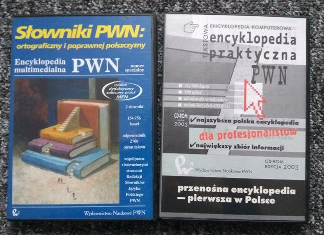 Encyklopedia PWN multimedialna + słowniki multimedialne