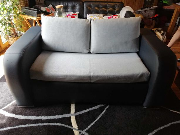 Sofa kanapa dwuosobowa rozkładana BRW
